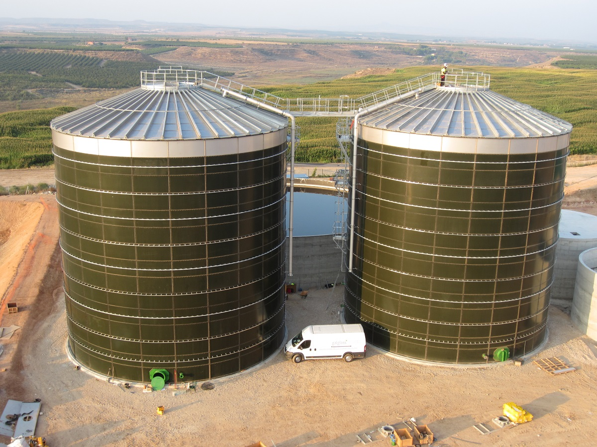 Steel-tanks-Biogas
